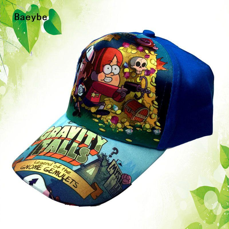 a2d4629f Children Gravity Falls Star Wars baseball cap snapback hat kids 4-9 year  old hip hop boys girls snapback cap sun hat