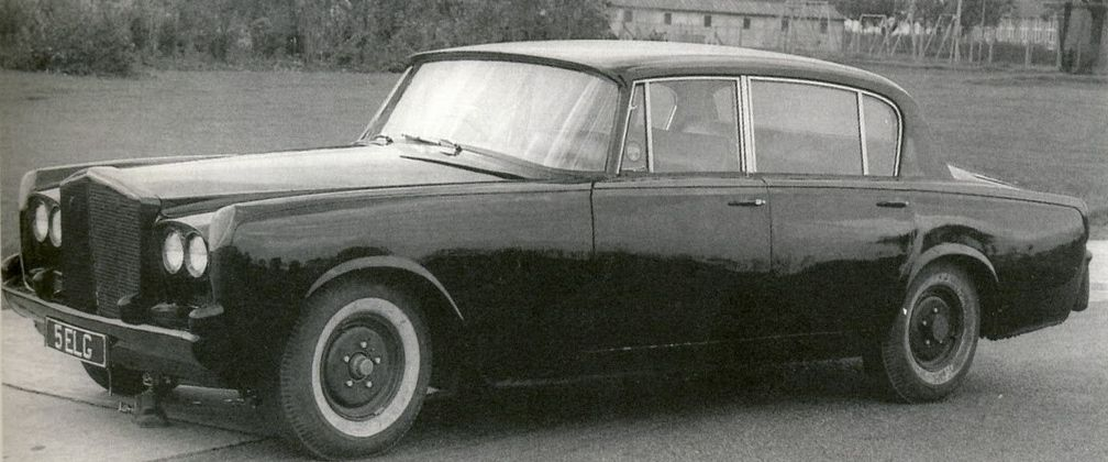 Chassis 41b Prototype Tibet Concealed The First Car Built Using Monocoque Construction Rolls Royce Rolls Royce Silver Shadow Rolls Royce Cars
