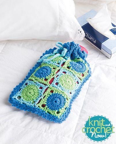 Free Guest Room Hot Water Bottle Crochet Pattern Download