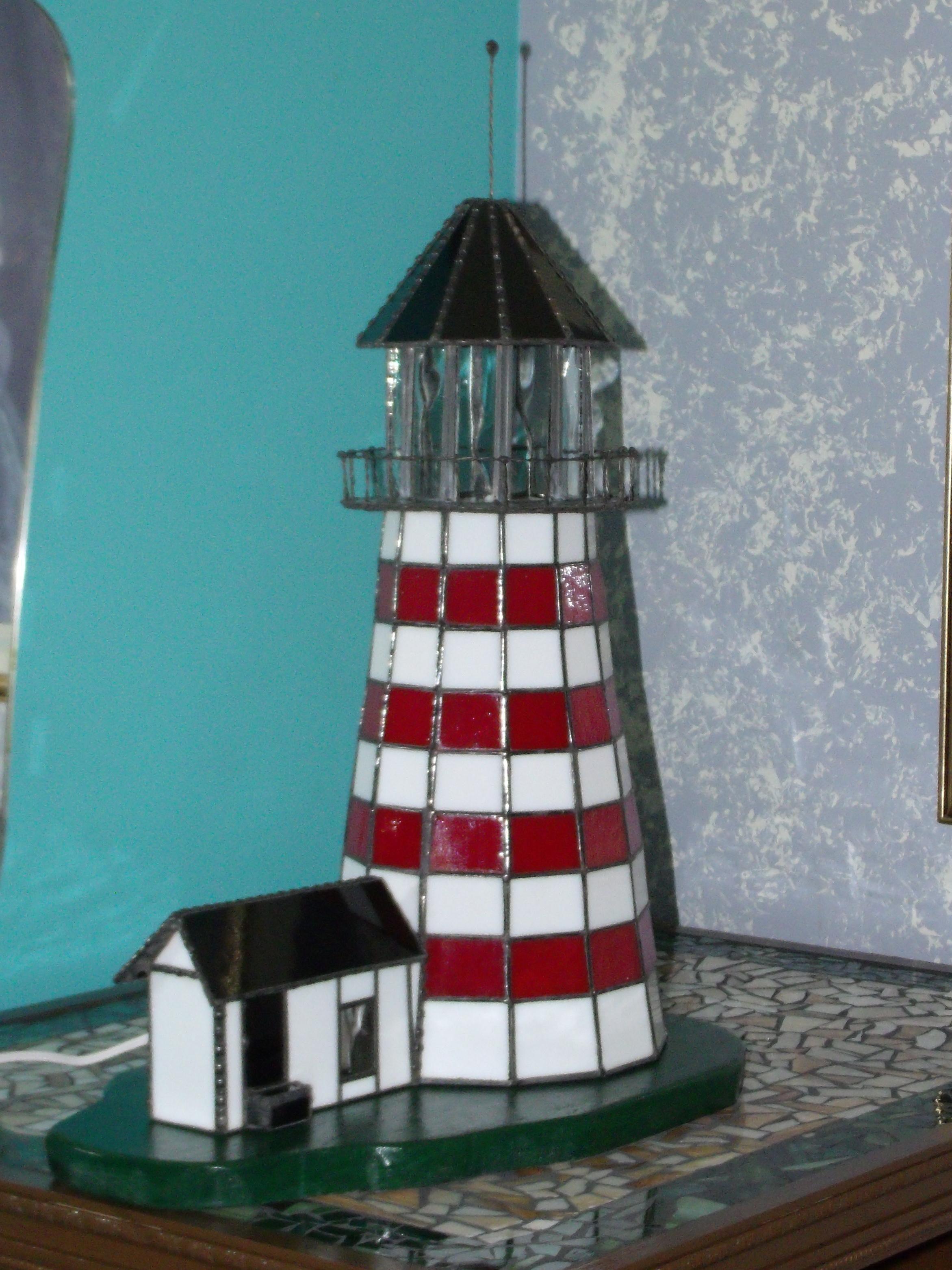 Amberlyns Light House Lamp Delphi Artist Gallery