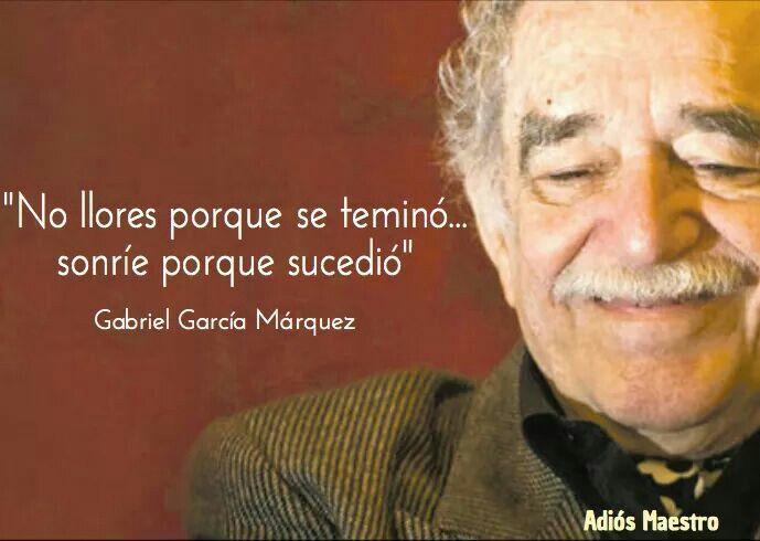 García Márquez.