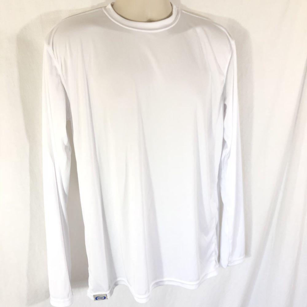 fc836143 Vapor Apparel Mens T-Shirt UPF 50+ UV/Sun Protection Long Sleeve Performance  | eBay