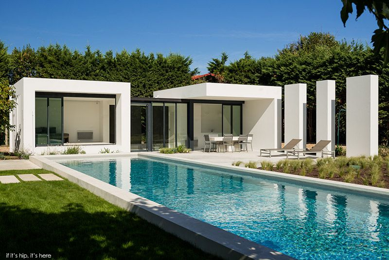 Modern Pool House In Basque Country By Atelier Dc And Architects Marso6 Modern Pool House Modern Pools Pool Houses