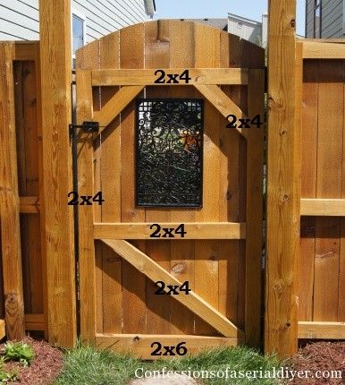 Fence Gate Designs | Custom Wood Gates, Wood Garden Gates