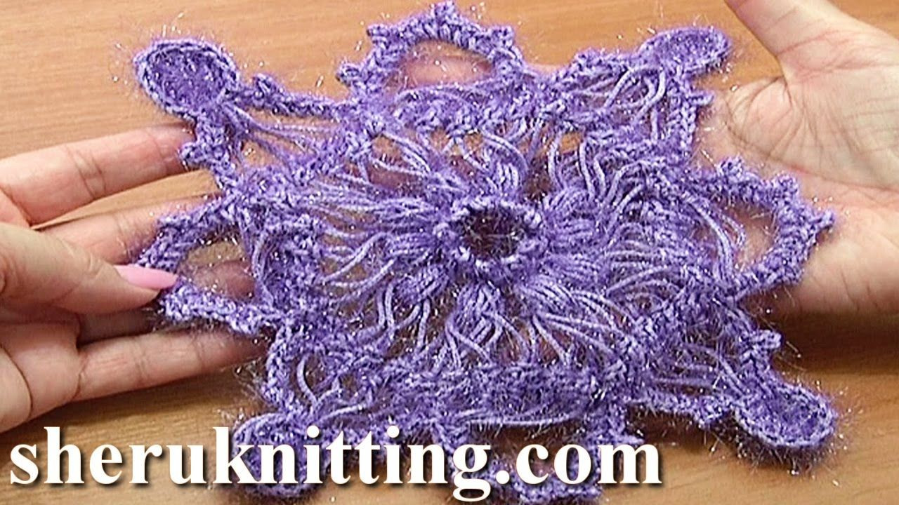 In this hairpin lace crochet tutorial we showed you how to make a hairpin crochet snowflake ornament tutorial 7 part 1 of 2 hairpin square motif bankloansurffo Image collections