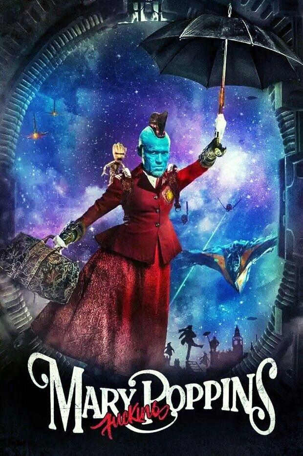 Guardians Of The Galaxy Yondu Mary Poppins Marvel Superheroe