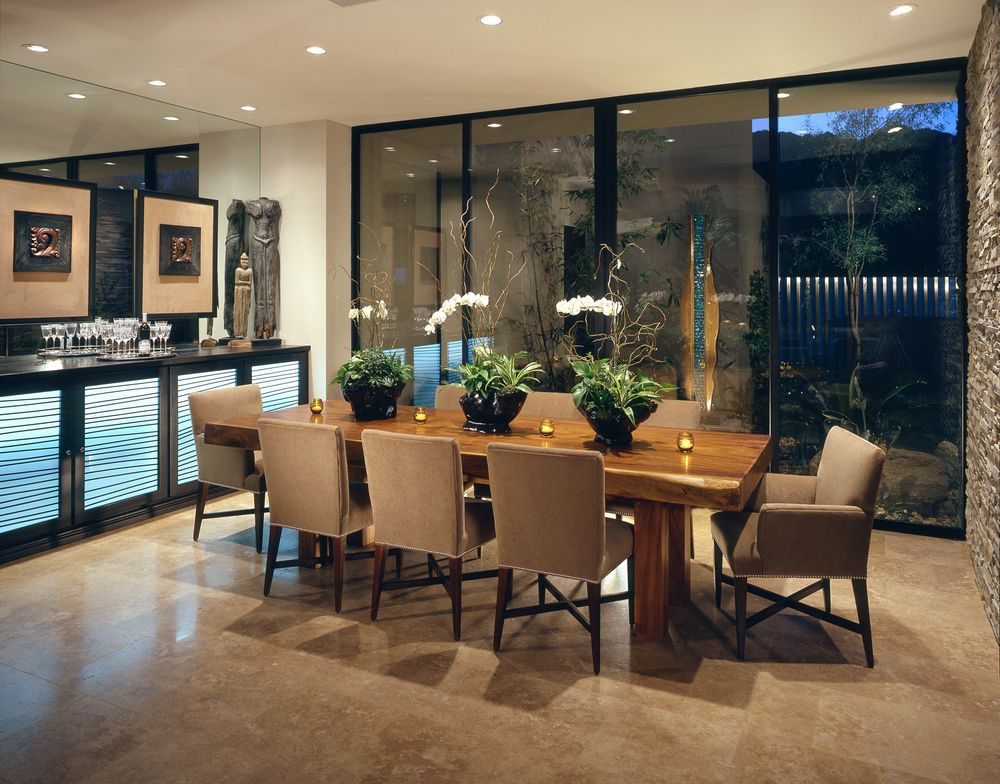 126 Custom Luxury Dining Room Interior Designs Wall dividers - esszimmer modern luxus