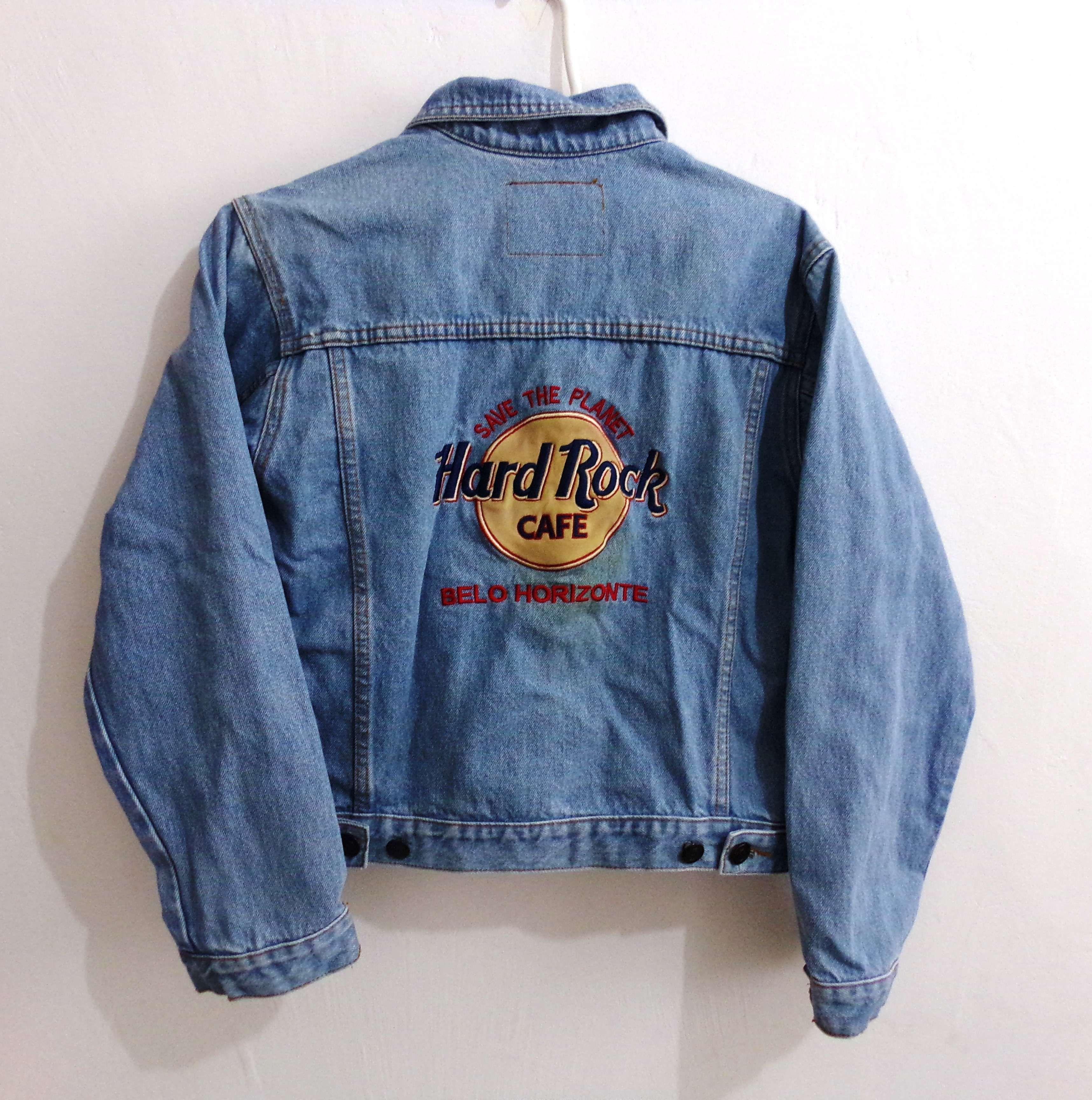 be9d6aaf3a Jaqueta Hard Rock Café | Ideas | Jaqueta vintage, Jeans vintage e ...