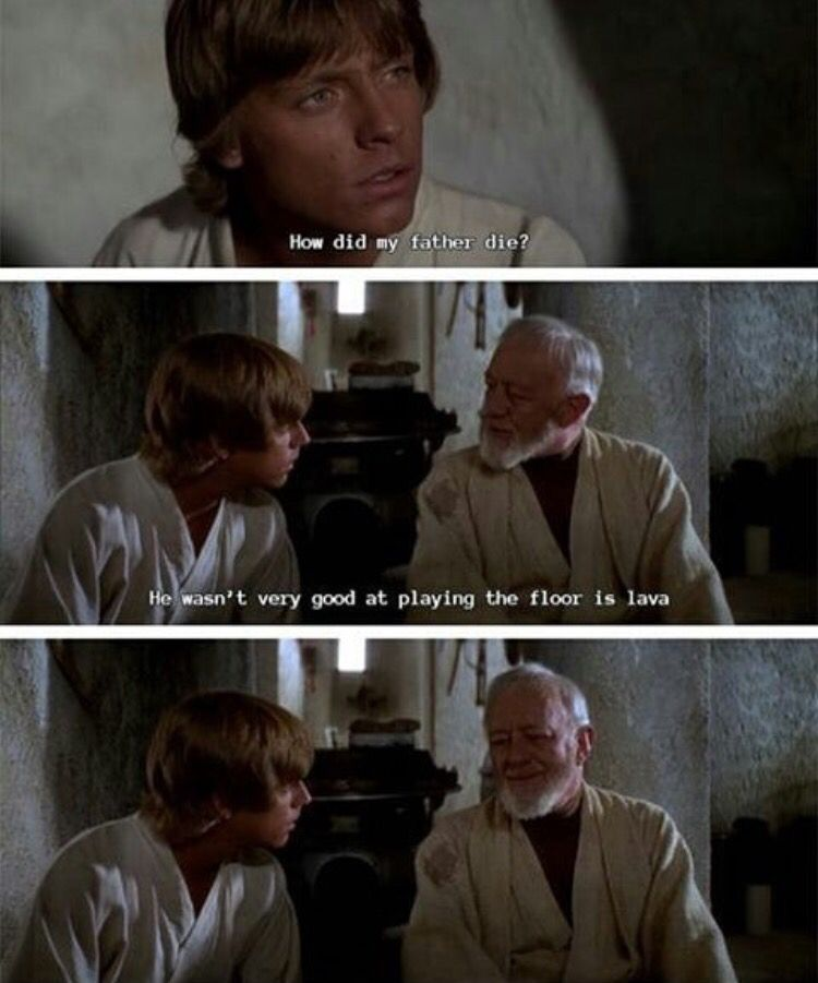 Ben Kenobi Is The Real Mvp For This Haha Star Wars