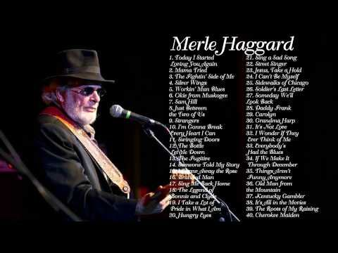 Merle Haggard Greatest Hits Full Album Best Songs Of