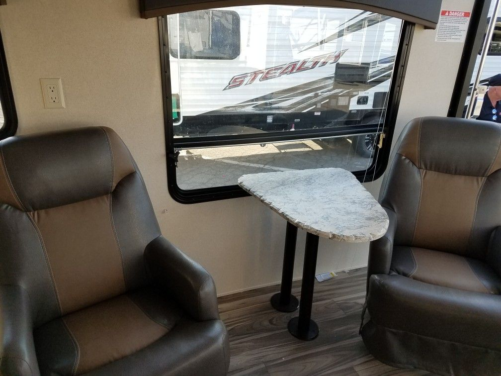Captains chairs Before | Toy hauler decor | Furniture, Chair