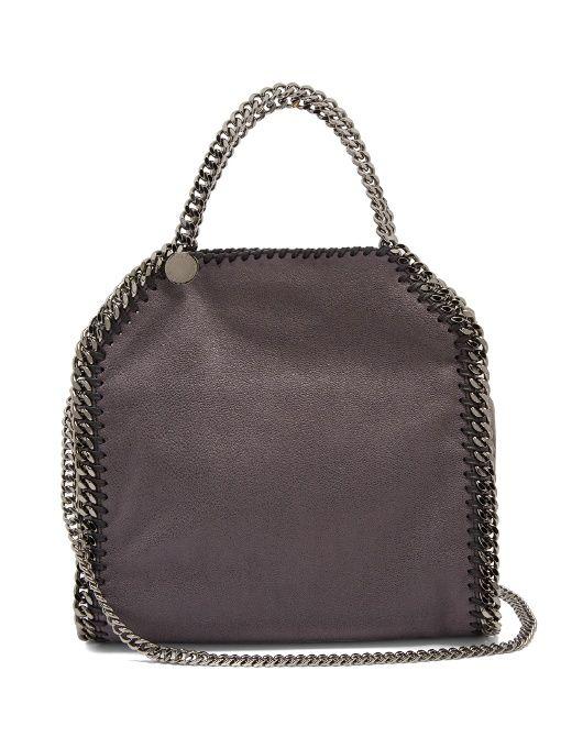 c4c96b7205048 Stella McCartney Falabella mini faux-suede cross-body bag