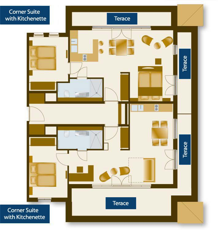 Hotel room floor plans floor plan and possible for Hotel plan design