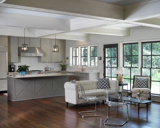 Comfortable Remodeled Ranch House Atmosphere With Best Ideas Awesome Open Floor Plan Interior Remodel