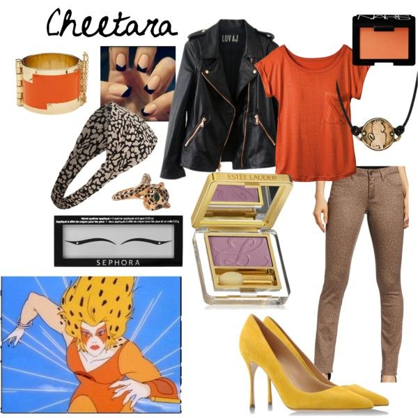 """""""Non-Disney Outfits: Cheetara"""" by jas67angel on Polyvore"""