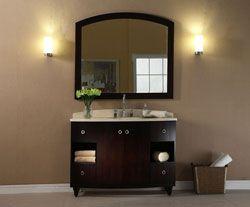 48 Xylem V Capri 48de Bathroom Vanity Xylem Homeremodel Bathroomremodel Blondybathhome Bathroomvani Glass Bathroom Bathroom Vanity Glass Vanity