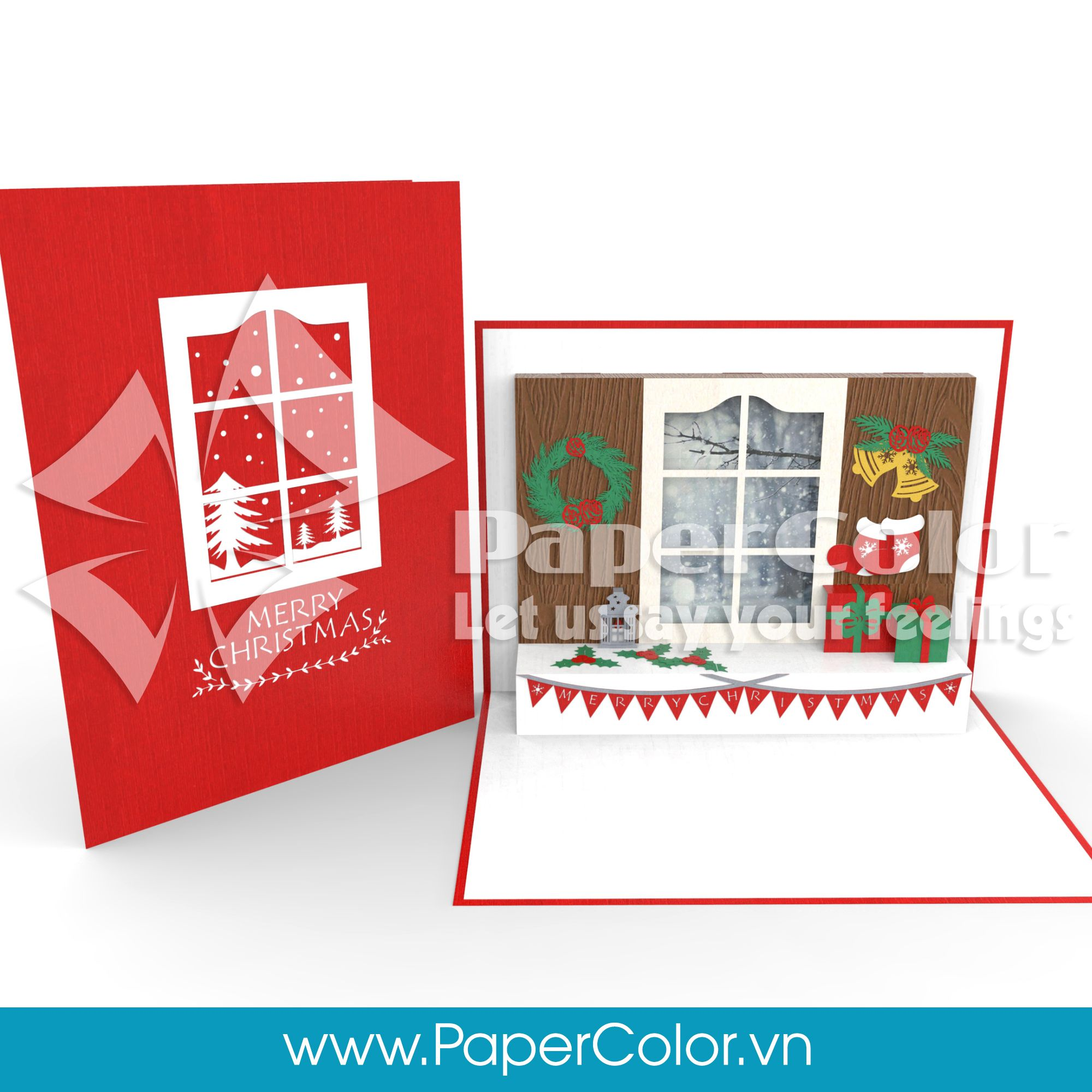 Christmas home decorating pop up card paper color pop up card christmas home decorating pop up card paper color pop up card vietnam supplier m4hsunfo