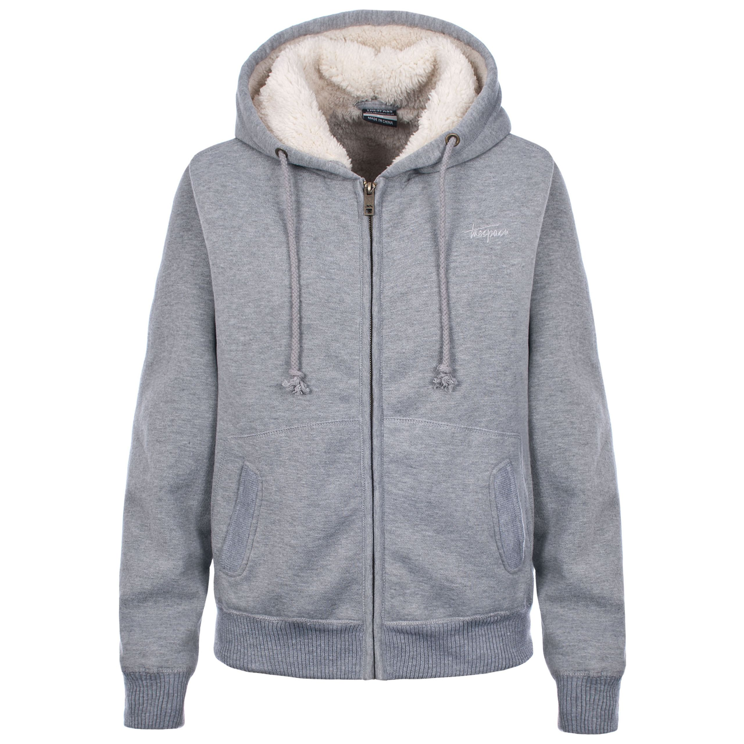 This extra-warm women's hoodie is the perfect choice for winter. It has a