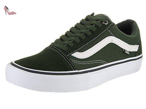 chaussures vans homme verte