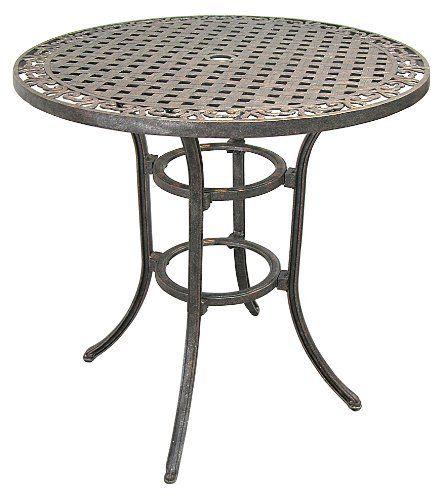 Innova 38 Inch Round Bar Height Table By Innova 450 00 Enjoy