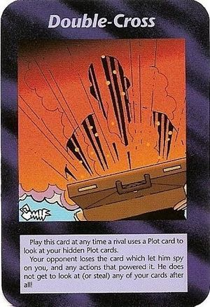 Illuminati Card Game - Double Cross