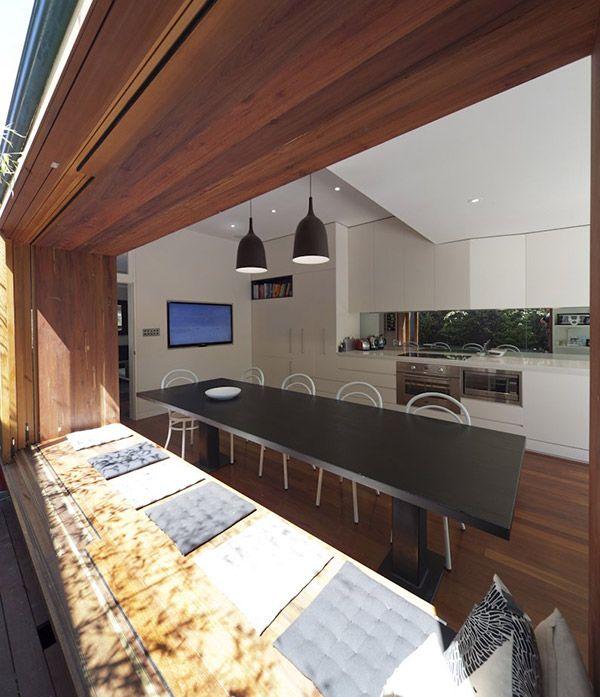 #Küche Innenräume Kleines Modernes Haus Mit Dem Coolsten Fensterplatz  Ausgestattet #art #home #