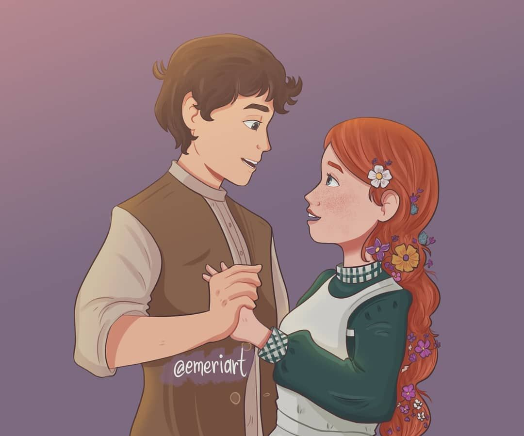 Anne And Gilbert Blythe In Their Kingdom Dance Moment From Anne Of