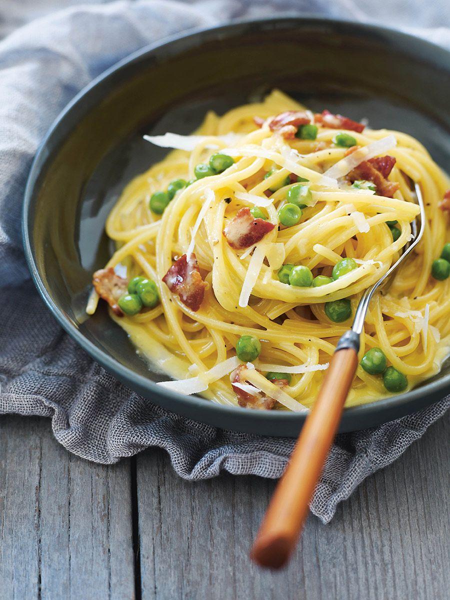 Capellini Al Forno Giada sweet paul's spaghetti carbonara recipe from his new book