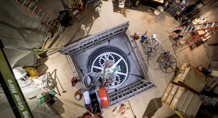 The Long Now Foundation Begins The Installation Of The Monumental 10 000 Year Clock In West Texas Old Clocks The Long Now Clock