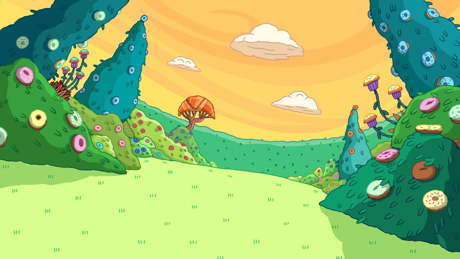 Adventure Time Background wallpaper adventureTimeGolf
