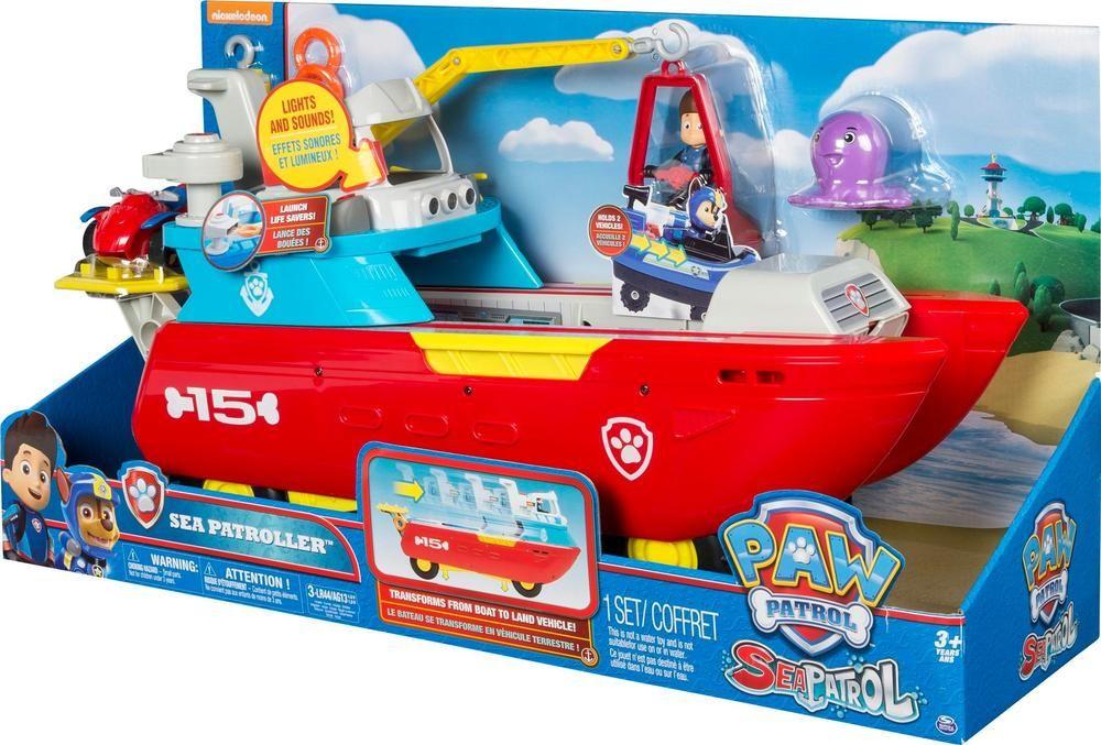 Paw Patrol Sea Patroller 6037845 Best Buy Paw Patrol Paw Patrol Toys Toy Cars For Kids