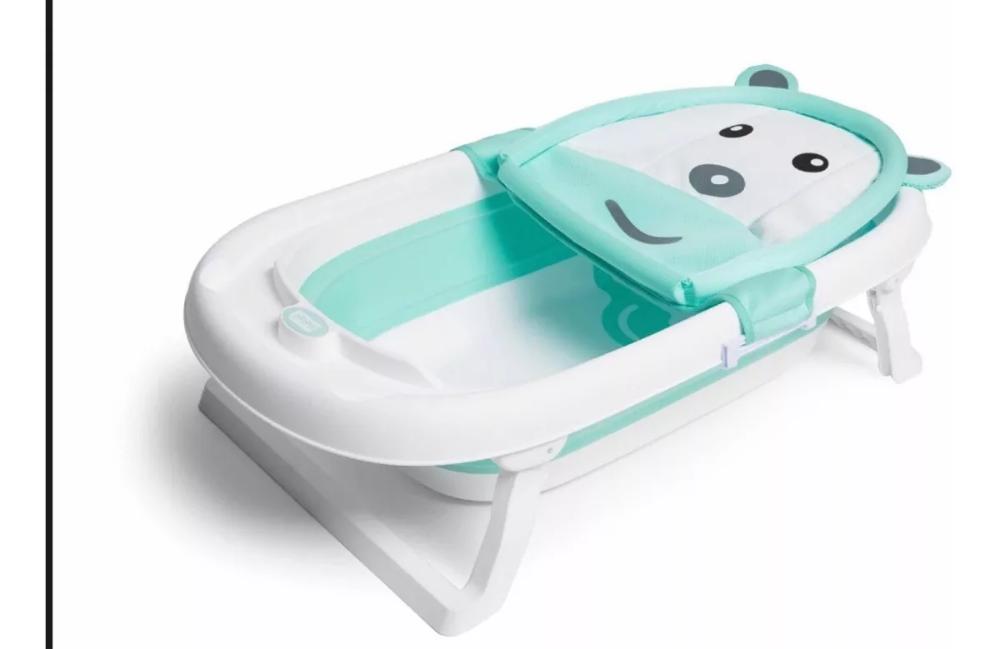 Bañera Bebé Plegable Grande Desde Recién Nacido 3 900 00 Bañera Bebe Plegable Bañera Bebe Banera