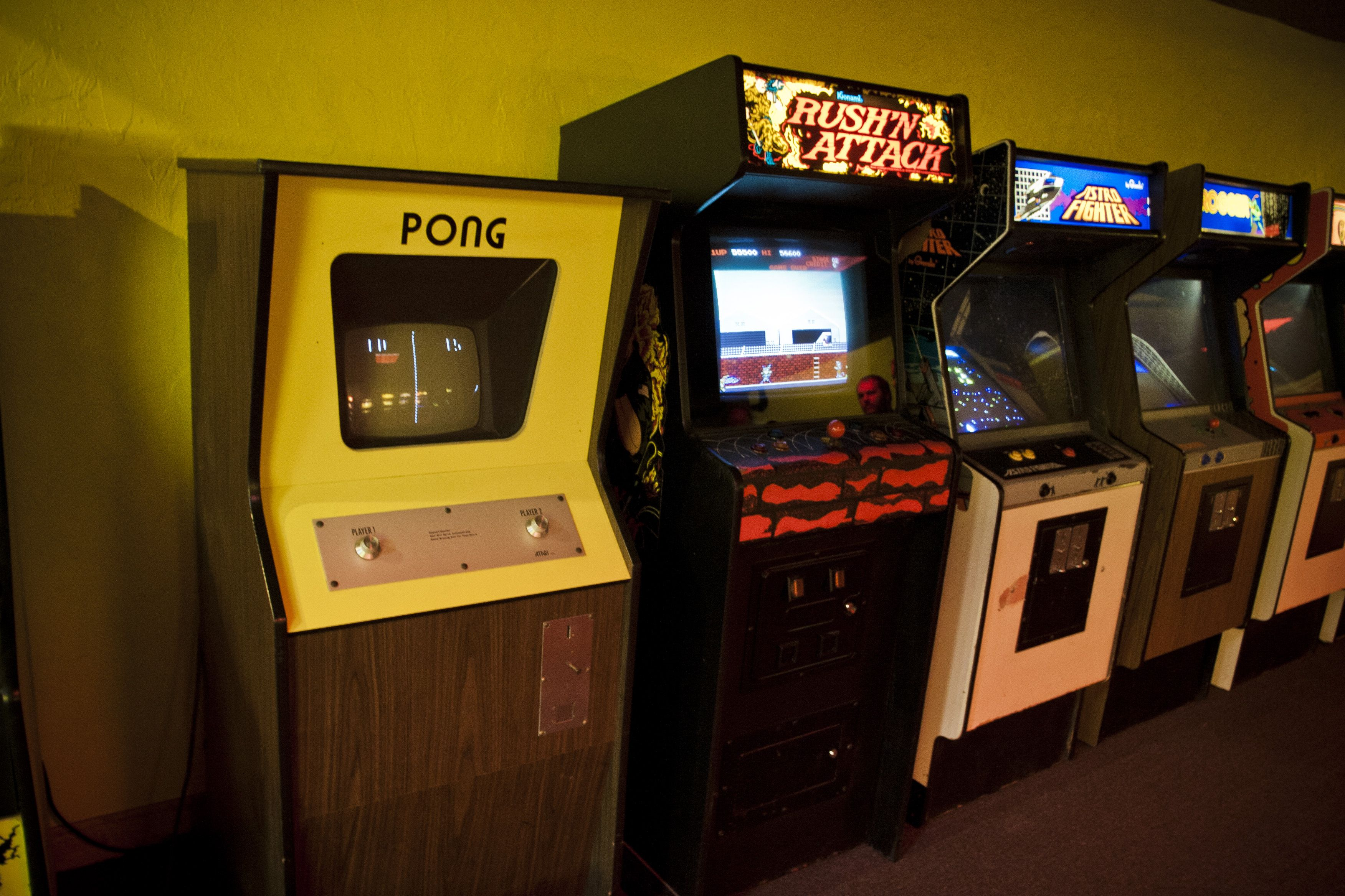 7 arcade games You got to love old classics. Every gamer
