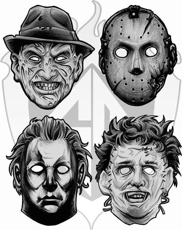 Pin By Umb On Some Art Work Horror Horror Movies Horror Icons