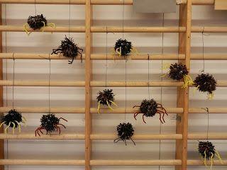 Hämähäkit Pointti - Pollarin koulun blogi: Askartelu