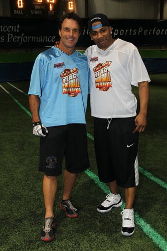 Pin On Celebrity Sweat Flag Football 2012