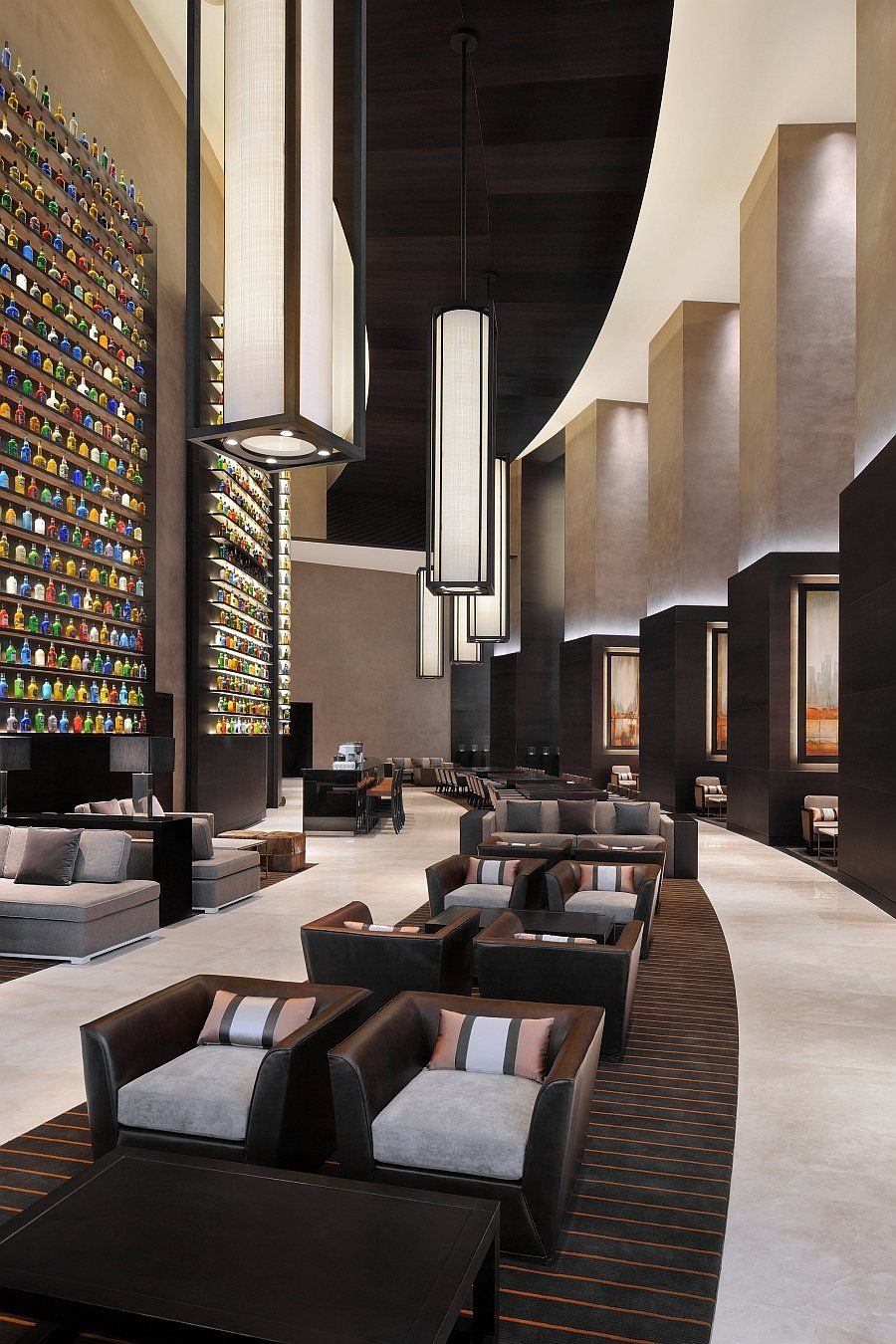 Jw Marriott Marquis Dubai Uae Located In Hotel Lobby