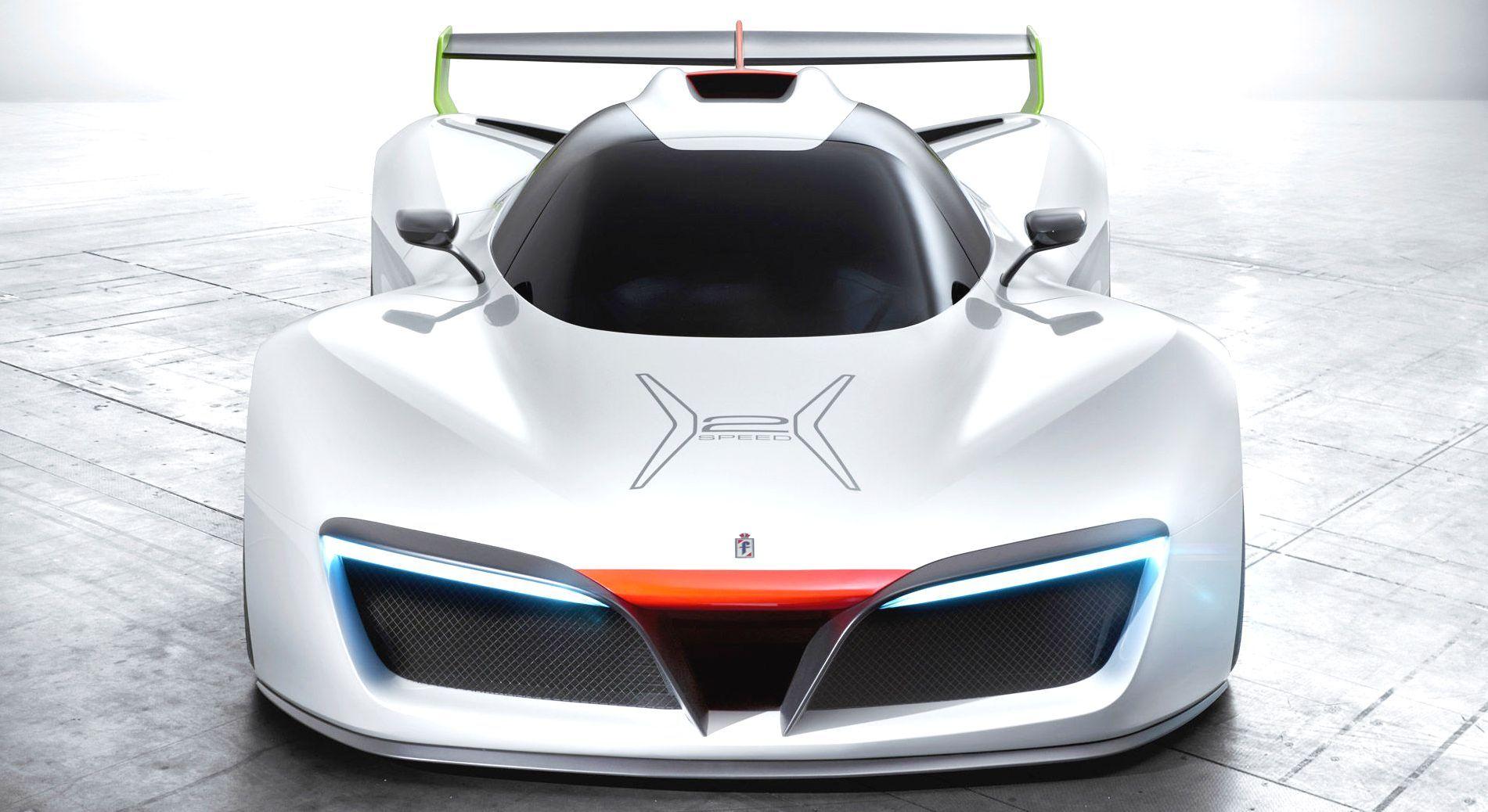 Pininfarina H2 hydrogen powered sports car concept Super