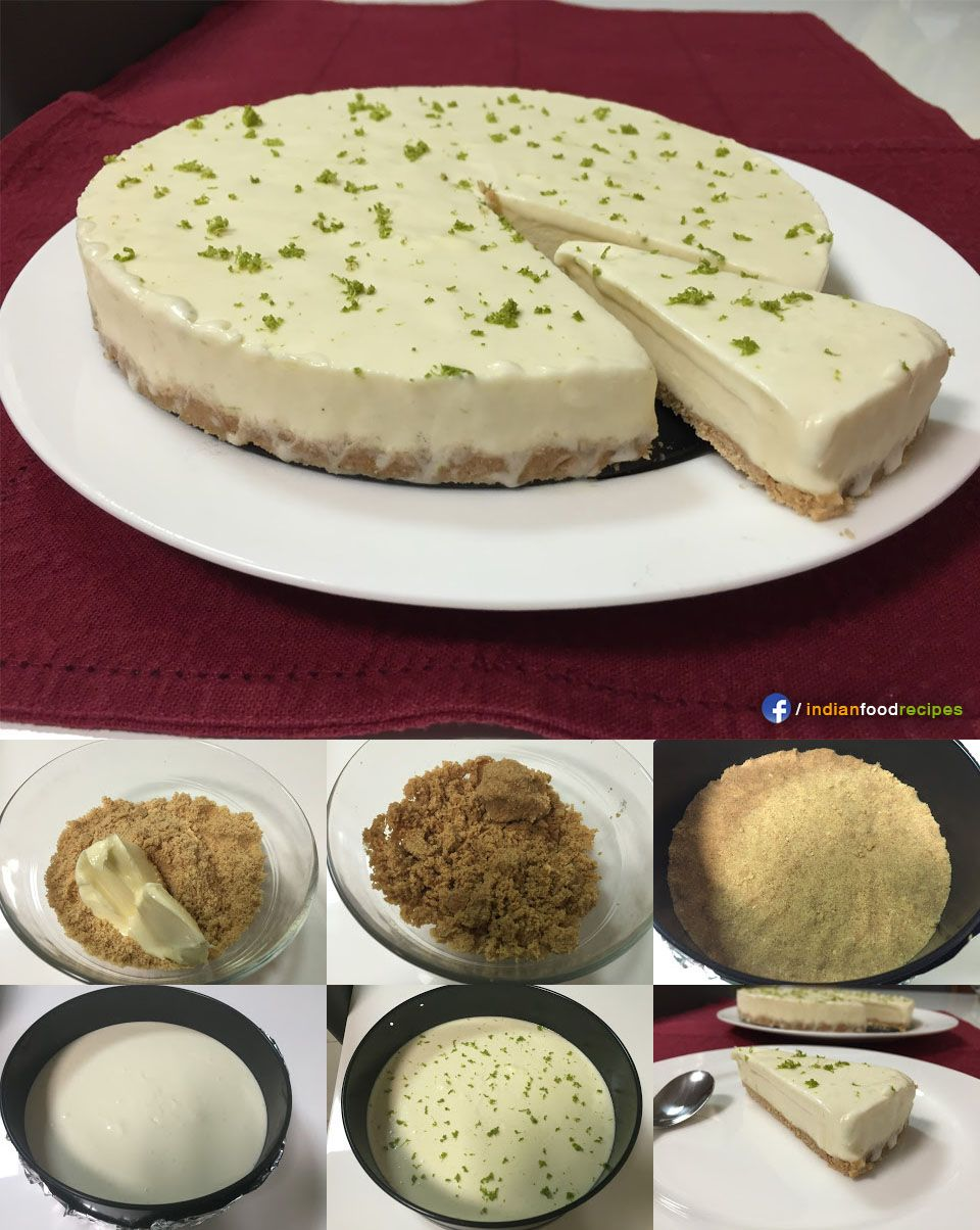 Lemon Cheesecake No Bake Eggless Recipe Step By Step You Can Make This Yummy Cheesecak Eggless Recipes Eggless Cheesecake Recipe No Bake Lemon Cheesecake