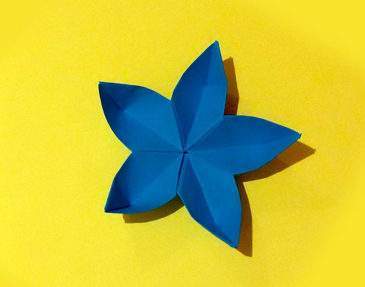 Origami - Sakura flower. Ideas for New Year decoration ...