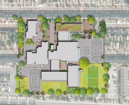 Davis landscape architects avenue primary school london for Landscape architecture courses adelaide
