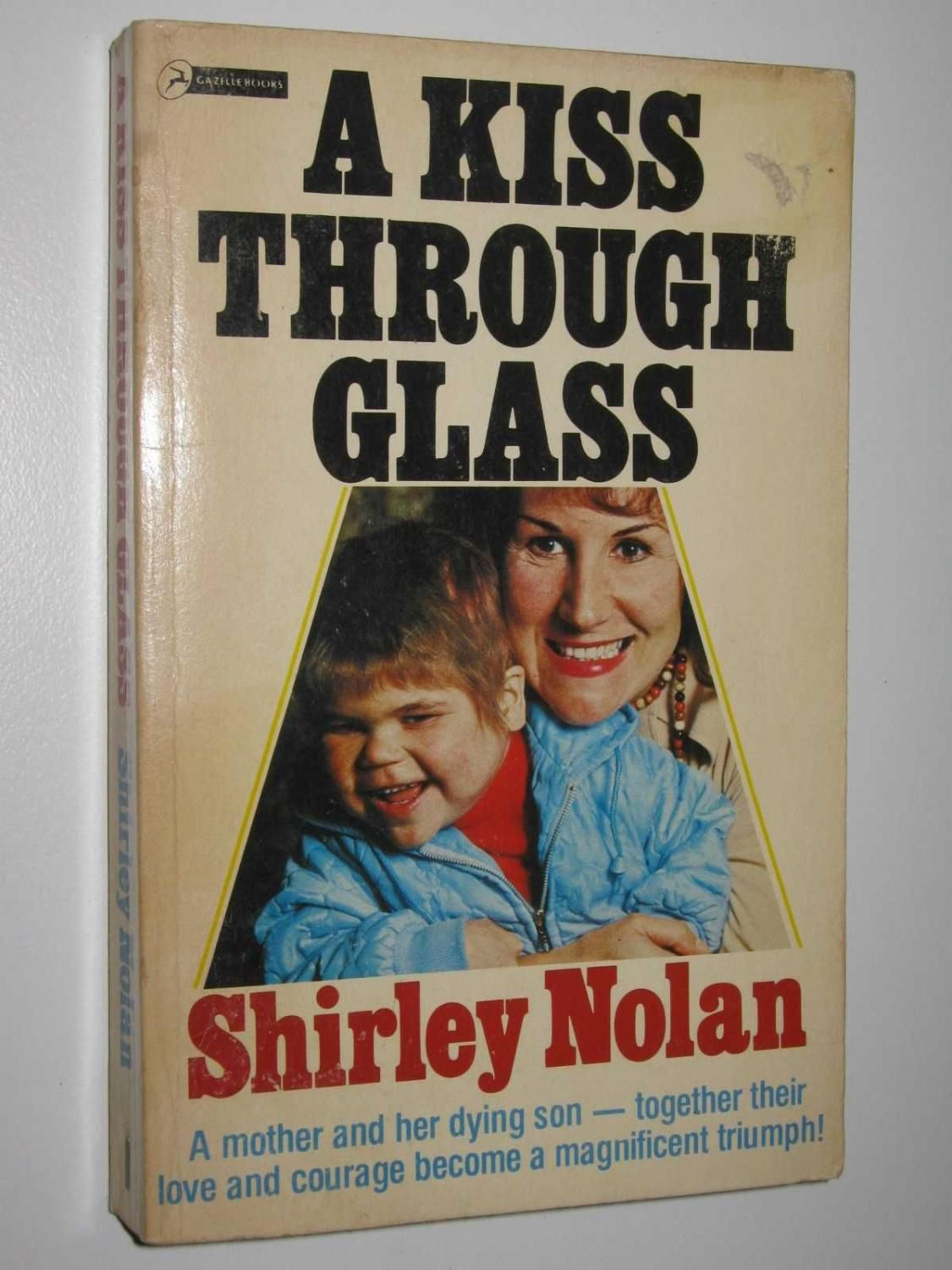 A Kiss Through Glass Nolan Shirley Books Book Cover Shirley