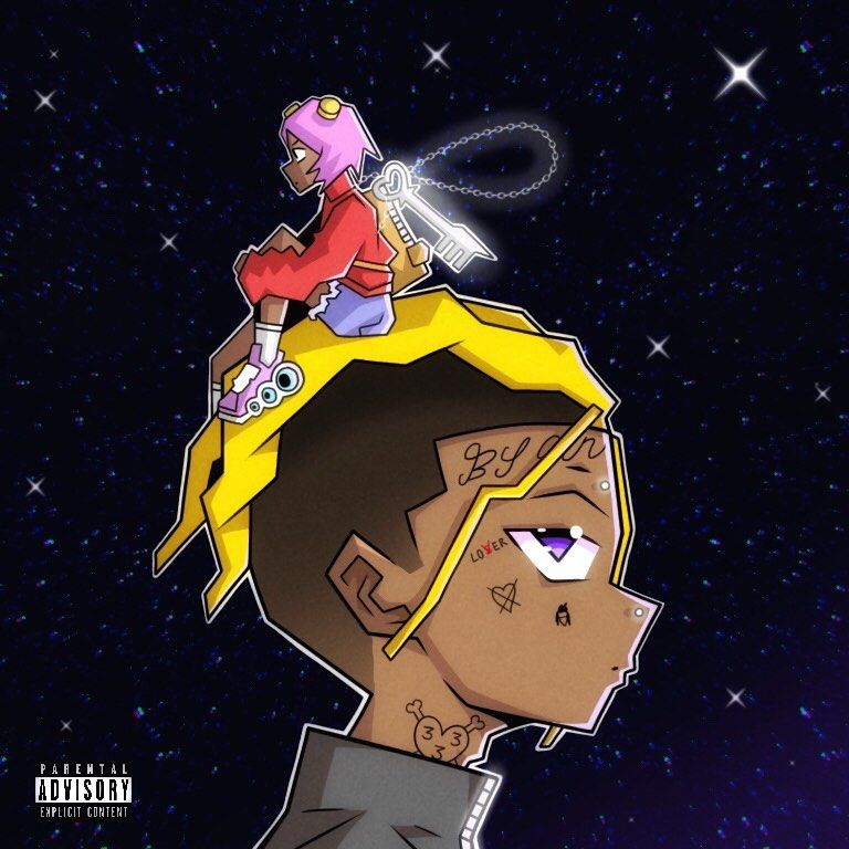 Jdraws On Instagram Luv Vs The World 2 Alternate Cover Art By Me Liluzivert Art Rap Liluzivert