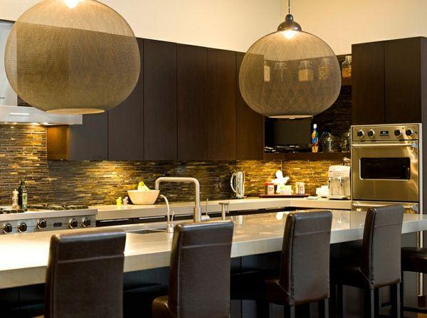 Küche Pendelleuchte große pendelleuchten im esszimmer moderne hängelen moderne