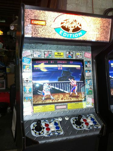 Street Fighter Ii Champion Edition Arcade Machine Ebay Arcade