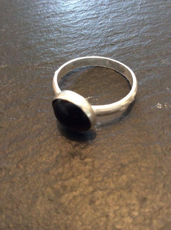 Garnet Ring  Size 7.5 by GGsGems16 on Etsy