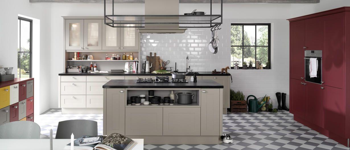 Moderne Küchen LandhausStil Nolte Küchen (mit Bildern