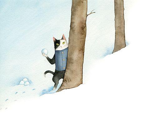 Cecil and the Joys of Winter by Bojana Dimitrovski