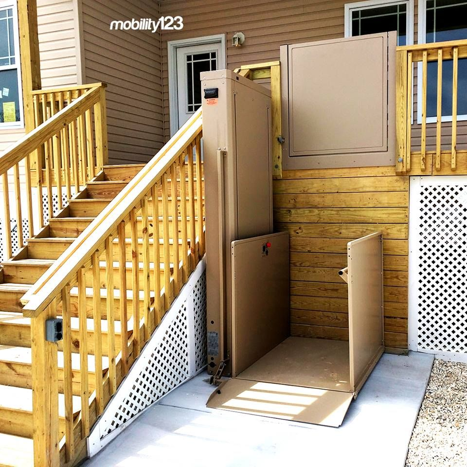 Bruno Wheelchair Lift (VPL) by Mobility123 Almont