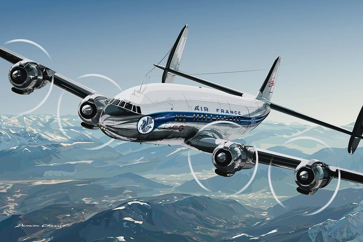 Lockheed Constelation militar Air france